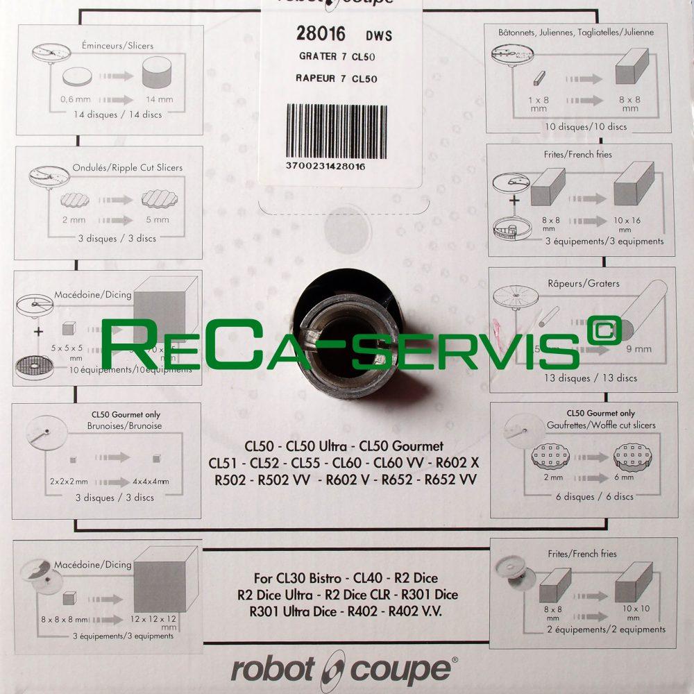 Диск овощерезки RobotCoupe 28016